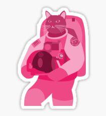 MeshMinds Astrocat - Briefing Sticker