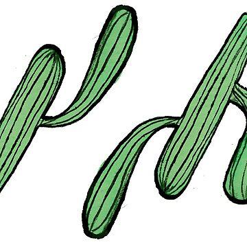 Cucumber-cactus by Linehoejbjerg