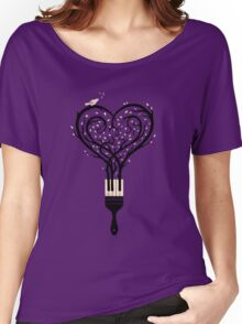 Paint your love song Women's Relaxed Fit T-Shirt