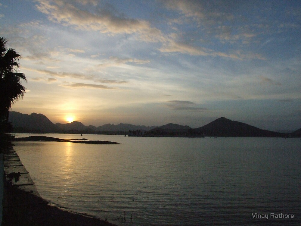 Sunset at Udaipur by Vinay Rathore