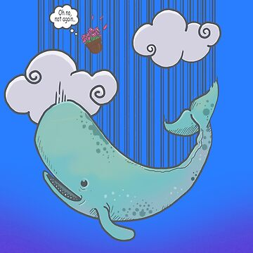 SPERM WHALE & BOWL OF PETUNIAS- Classic Comedy Novel/ Movie inspired Design by Ice-Tees
