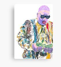 Biggie Coogi Sweater Canvas Print