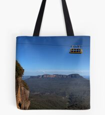 Hanging Around Skyway Blue Mountains Australia Tote Bag