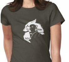 May the Dread Wolf Take You Womens Fitted T-Shirt