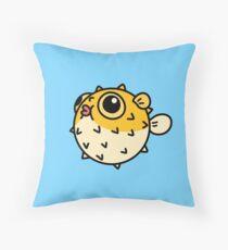 Pufferfish Throw Pillow