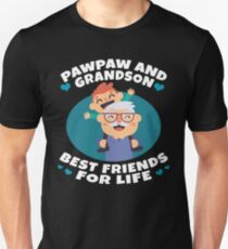 Pawpaw And Grandson Best Friends For Life Funny Family Gift T-Shirt