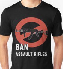 Ban Assault Rifles Gun Control T-shirt Unisex T-Shirt