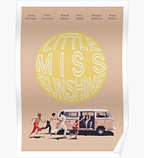 Little Miss Sunshine Retro Filmprint Poster