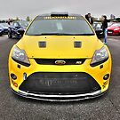 Yellow Mk2 Focus RS by Vicki Spindler (VHS Photography)