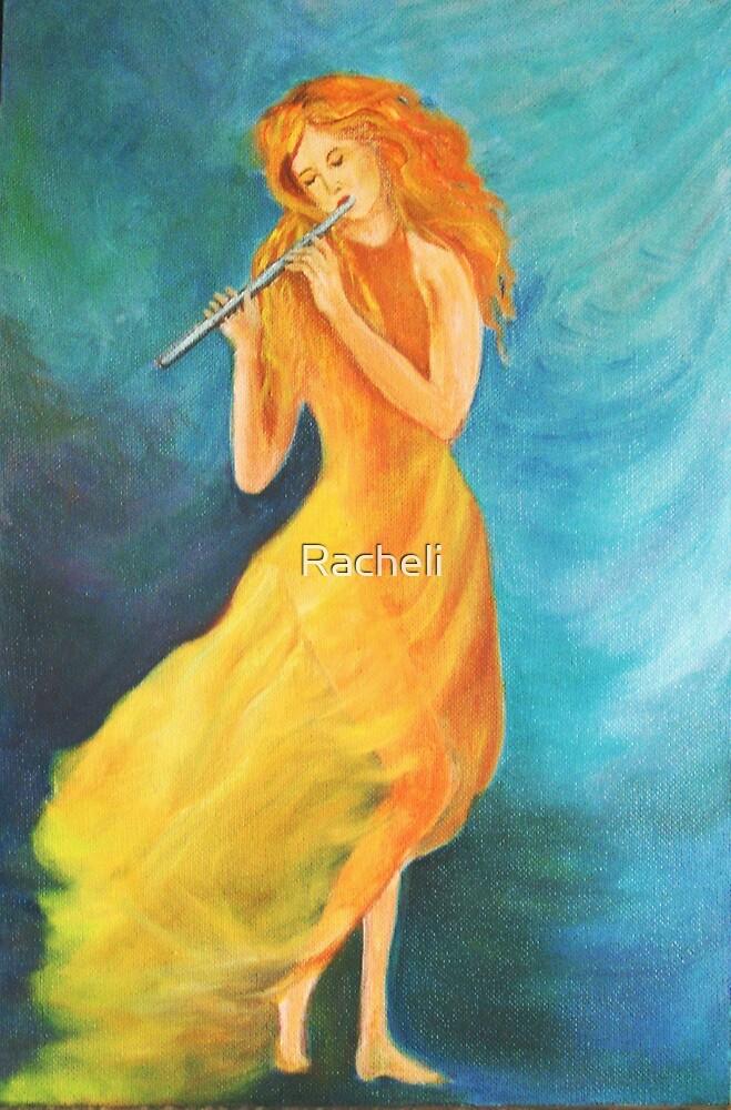 Artist of Flute by Racheli