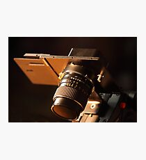photo camera medium format  Photographic Print