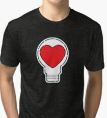 Let Love Light The Way ... Tri-blend T-Shirt