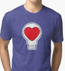 Let Love Light The Way ... Tri-blend T-Shirt