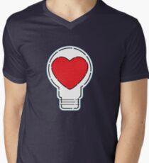 Let Love Light The Way ... Men's V-Neck T-Shirt