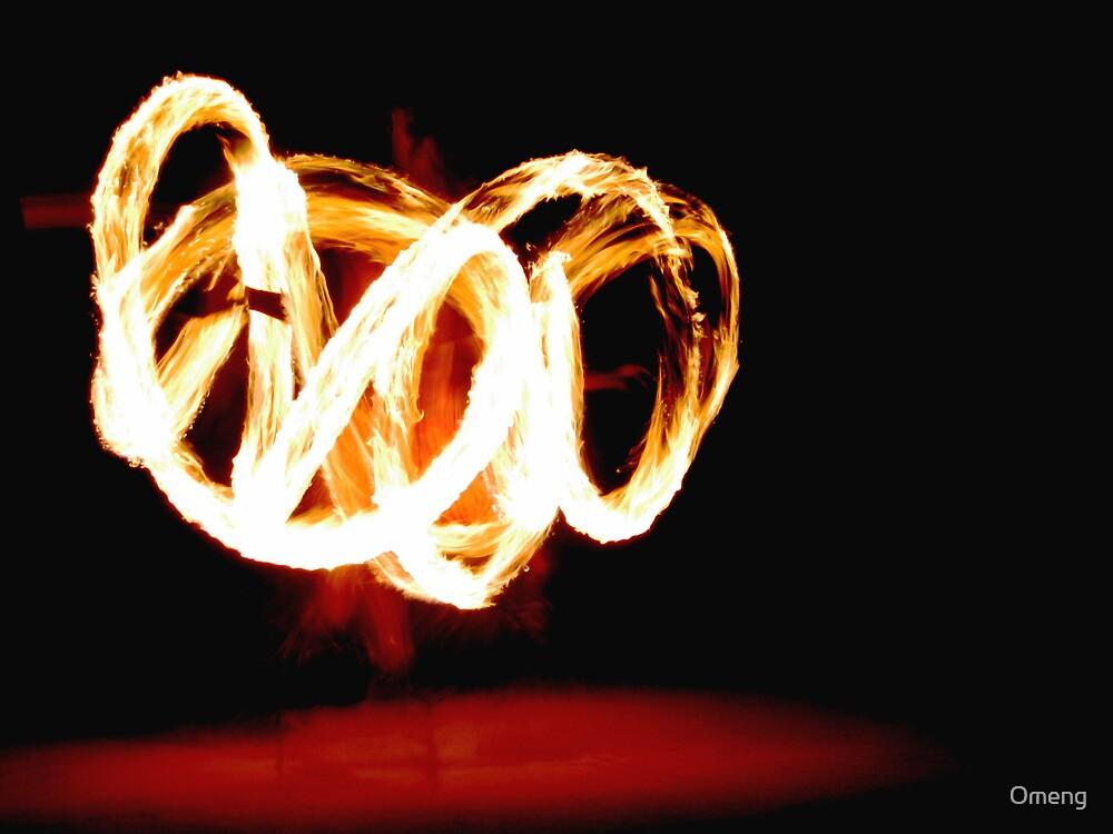 Fijian Fire Dance by Omeng