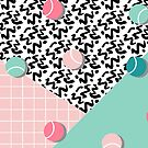 Tennis Pattern #redbubble #decor #buyart by designdn