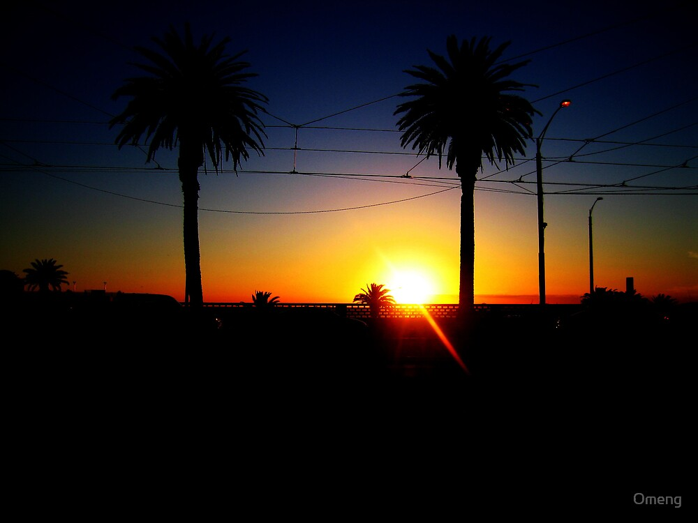 St Kilda Beach by Omeng