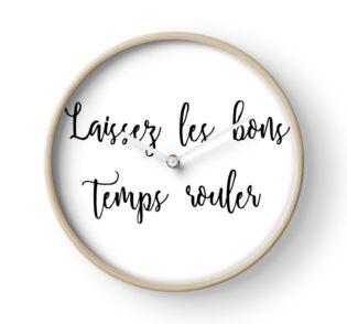 Laissez Les Bons Temps Rouler Acrylic Blocks By Kateweav Redbubble