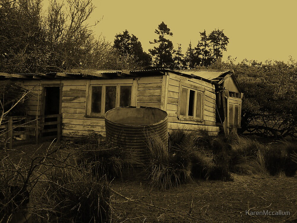 The old house by KarenMccallum