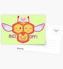 Passive aggressive combee Postcards