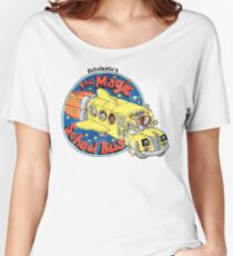 Washed-Out Magic School Bus Women's Relaxed Fit T-Shirt
