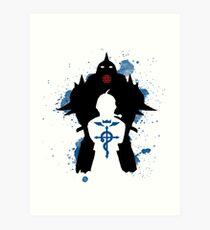 Epic Fullmetal Alchemist Art Print