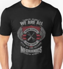 We Are All Born Equal Then Some Step Up And Become Meghanigs Unisex T-Shirt