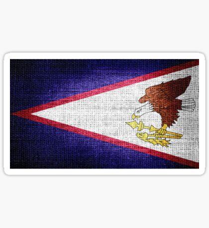 American Samoa flag Sticker