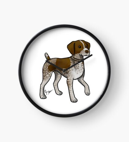 German Shorthaired Pointer Clock