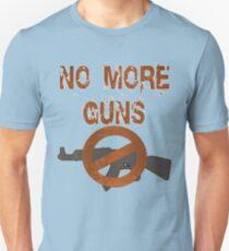 Gun Control No More Guns  Unisex T-Shirt