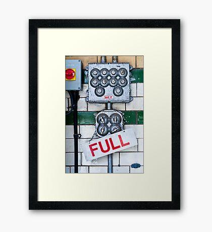 Full Framed Print