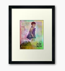 Miranda of a Thousand Colours - Witches of Aira Falls  Framed Print