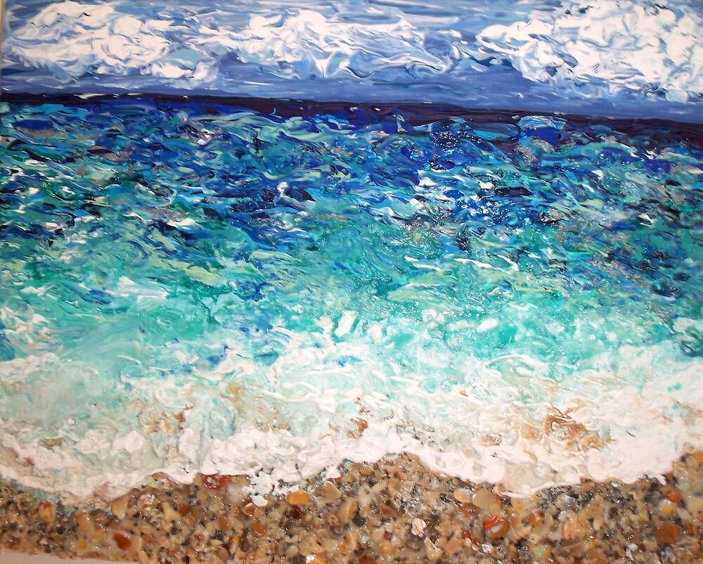 """Hollywood Beach"" by Adela bellflower"