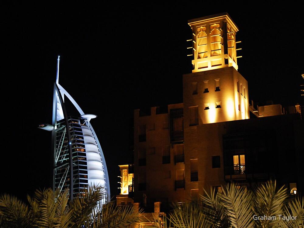 Madinat & Burj Al Arab Hotels by Graham Taylor