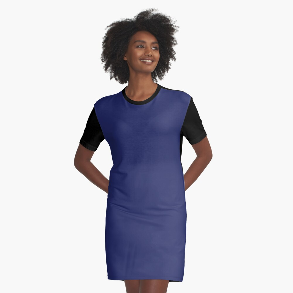 moderno con playas preppy náutico azul marino Vestido camiseta