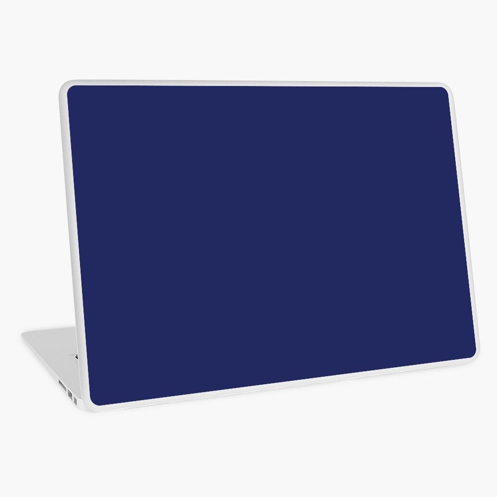 moderno con playas preppy náutico azul marino Vinilo para portátil