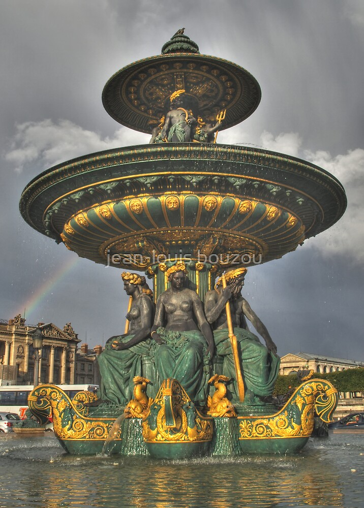 Concorde Square Fountain... by jean-louis bouzou