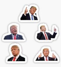 Trump Expressions (Realistic) Set Sticker