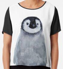 Kleiner Pinguin Chiffontop