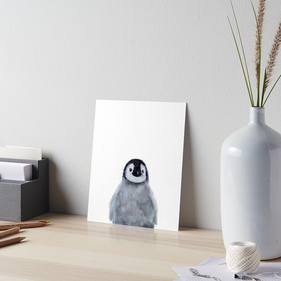 Pequeño pinguino Lámina rígida