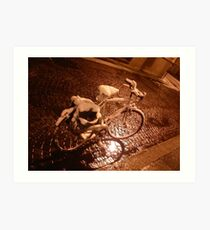 old bicycle--ITALY - 2000 visualizzaz.gennaio 2015-FEATURED RB EXPLORE VETRINA       20 APRILE2012--- Art Print