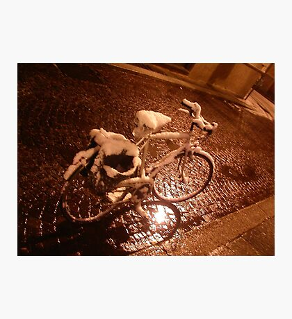 old bicycle--ITALY - 2000 visualizzaz.gennaio 2015-FEATURED RB EXPLORE VETRINA       20 APRILE2012--- Photographic Print