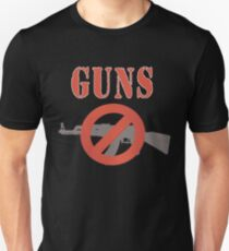 Ban Guns Pro Gun Control Unisex T-Shirt