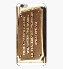 HERE YOU LEAVE TODAY  iPhone Case