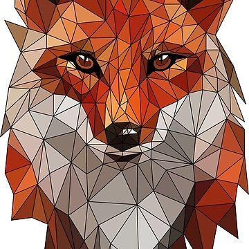FOX - LOW POLY by HeliumArtStudio