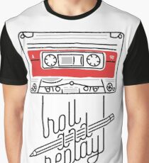 Roll and Replay Graphic T-Shirt