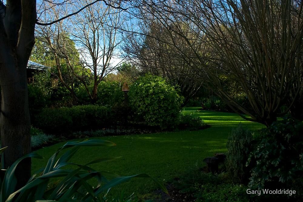 Friends garden by Gary Wooldridge