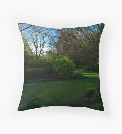 Friends garden Throw Pillow