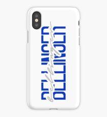 cody bellinger name font iPhone Case/Skin