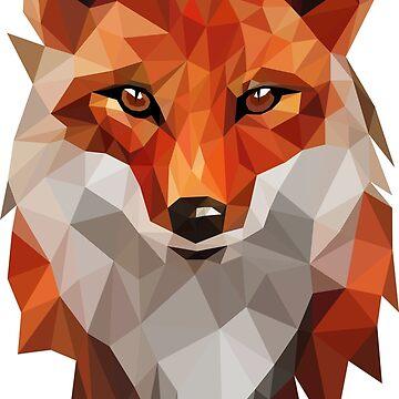 FOX - LOW POLY v2 by HeliumArtStudio